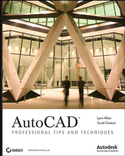 9780470084540: AutoCAD: Professional Tips and Techniques