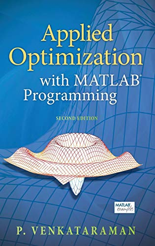 9780470084885: Applied Optimization with MATLAB Programming