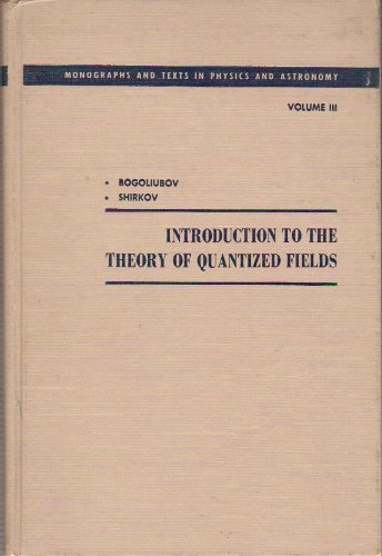 9780470086131: Introduction To the Theory of Quantized Fields