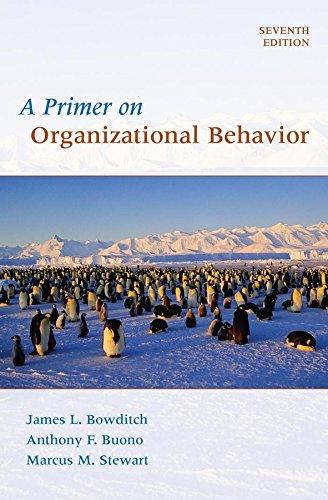 9780470086957: A Primer on Organizational Behavior