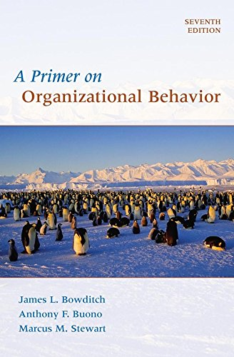 9780470086957: A Primer on Organizational Behavior, 7th Edition
