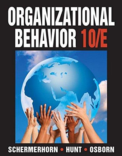 9780470086964: Organizational Behavior
