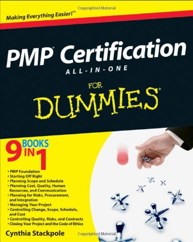9780470087152: PMP Certification All-in-One for Dummies