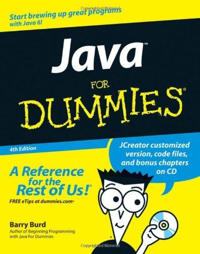 9780470087169: Java for Dummies