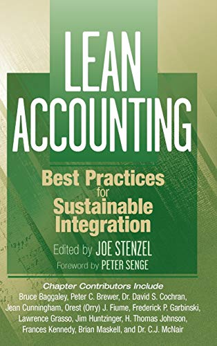 9780470087282: Lean Accounting: Best Practices for Sustainable Integration