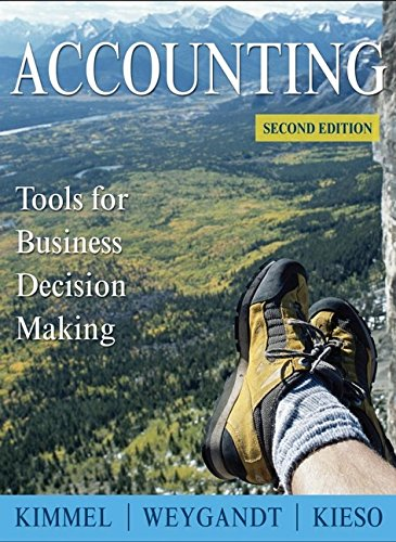 9780470087442: Accounting: Tools for Business Decision Making