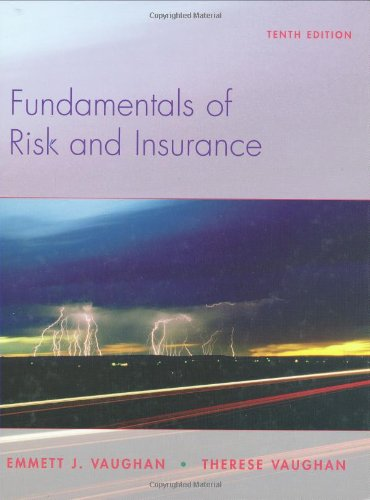 9780470087534: Fundamentals of Risk and Insurance