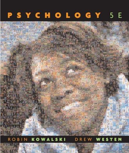 9780470087626: Psychology