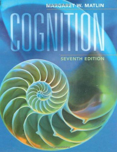 9780470087640: Cognition