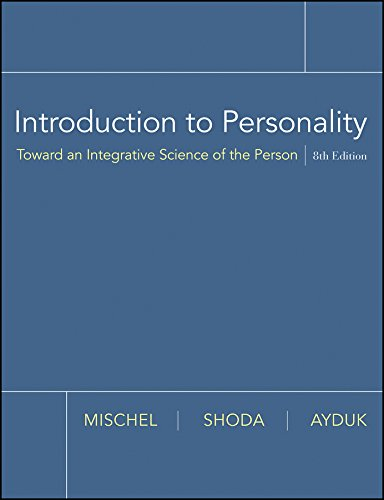 9780470087657: Introduction to Personality: Toward an Integrative Science of the Person