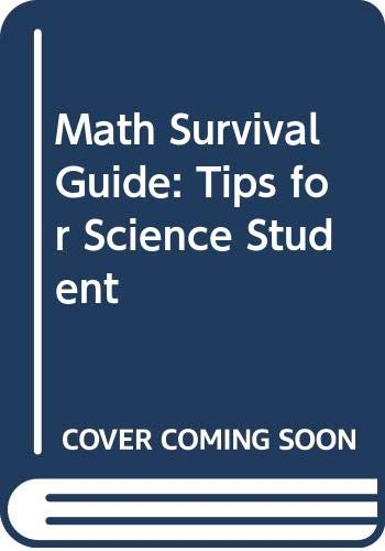 9780470087688: Math Survival Guide: Tips for Science Student