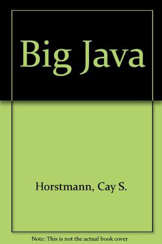 9780470088036: Big Java