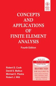 9780470088210: Concepts and Applications of Finite Element Analysis