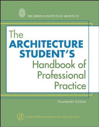 9780470088692: The Architecture Student's Handbook of Professional Practice
