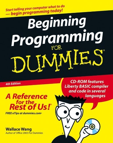 9780470088708: Beginning Programming For Dummies