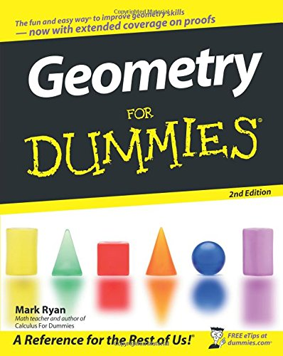 9780470089460: Geometry for Dummies