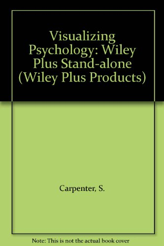 9780470089552: Visualizing Psychology: Wiley Plus Stand-alone (Wiley Plus Products)