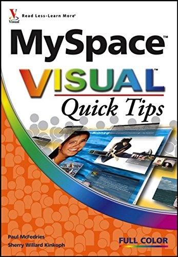 9780470089699: MySpace Visual Quick Tips
