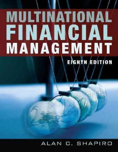 9780470089750: Multinational Financial Management: WITH Student Study Guide