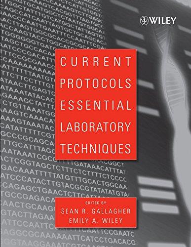 9780470089934: Current Protocols Essential Laboratory Techniques
