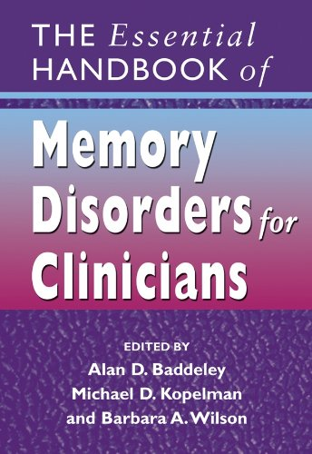 9780470091418: The Essential Handbook of Memory Disorders for Clinicians