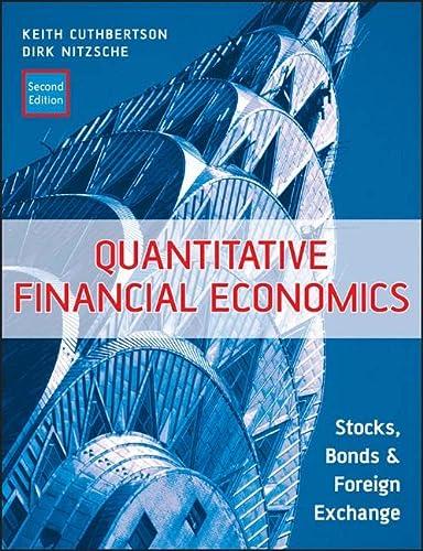 9780470091715: Quantitative Financial Economics: Stocks, Bonds and Foreign Exchange