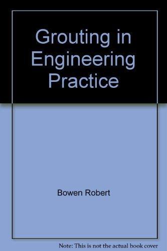 9780470092217: Grouting in engineering practice