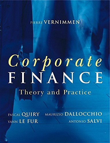 9780470092255: Corporate Finance: Theory And Practice