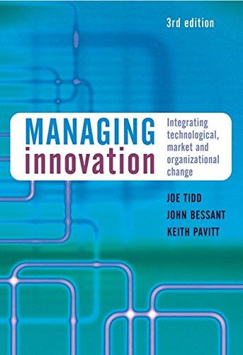 9780470093269: Managing Innovation: Integrating Technological, Market and Organizational Change
