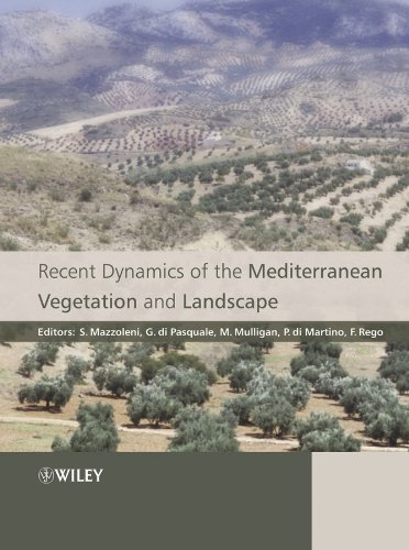 9780470093696: Recent Dynamics of the Mediterranean Vegetation and Landscape