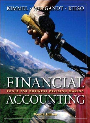 9780470095461: Financial Accounting: Tools for Business Decision Making (4th Edition - 2007)