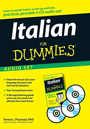 9780470095867: Italian For Dummies Audio Set