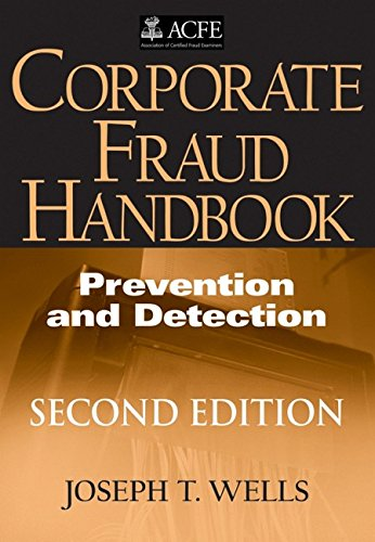 9780470095911: Corporate Fraud Handbook: Prevention and Detection