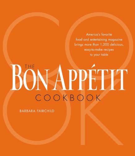 9780470097106: The Bon Appetit Cookbook