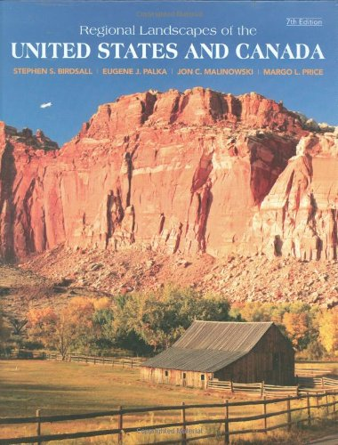 9780470098264: Regional Landscapes of the US and Canada