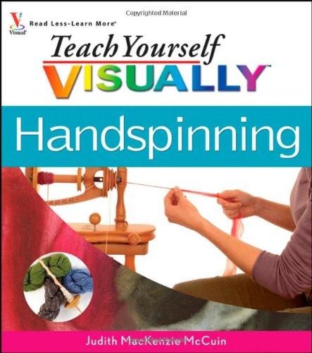 9780470098455: Teach Yourself Visually Handspinning (Teach Yourself Visually S.)