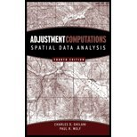 9780470098523: Adjustment Computations: Spatial Data Analysis