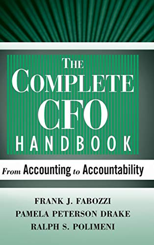9780470099261: CFO Handbook 4E: From Accounting to Accountability