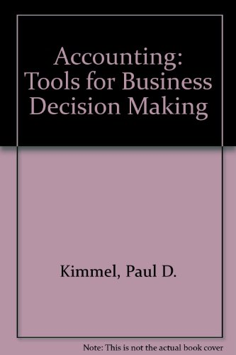 9780470099384: Accounting: Tools for Business Decision Making