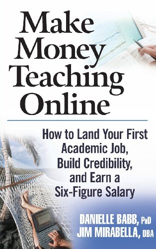 9780470100875: Make Money Teaching Online: How to Land Your First Academic Job, Build Credibility, and Earn a Six-Figure Salary