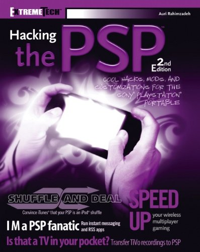 9780470104514: Hacking the PSP: Cool Hacks, Mods, and Customizations for the SonyPlayStationPortable