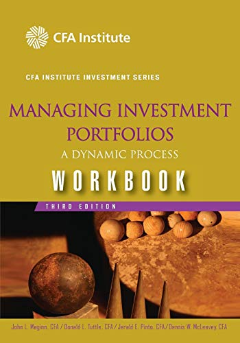 9780470104934: Managing Investment Portfolios Workbook: A Dynamic Process