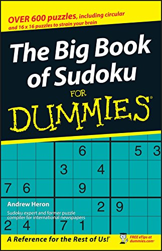 9780470105382: The Big Book of SuDoku For Dummies