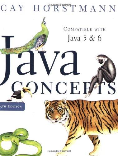 9780470105559: Java Concepts
