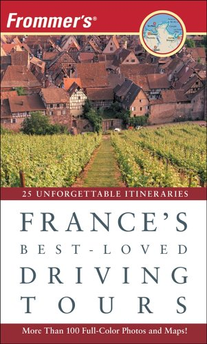 9780470105689: Frommer's France's Best-Loved Driving Tours