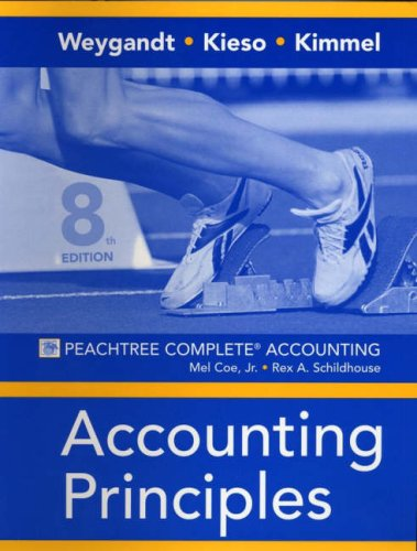 Accounting Principles - Peachtree Complete Accounting Workbook