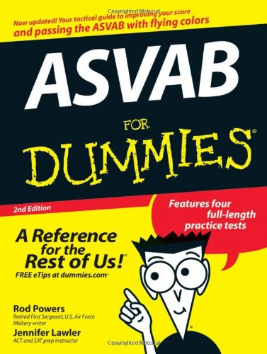 9780470106716: ASVAB For Dummies