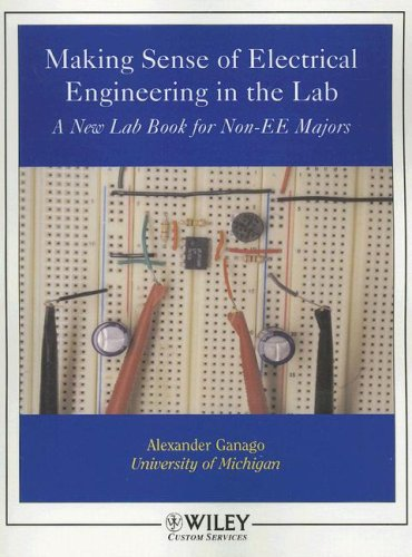 9780470106808: (WCS)Making Sense of Electrical Engineering in the Lab