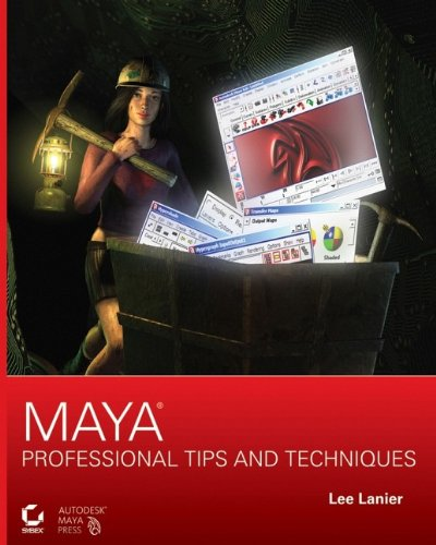 9780470107409: Maya Professional Tips and Techniques