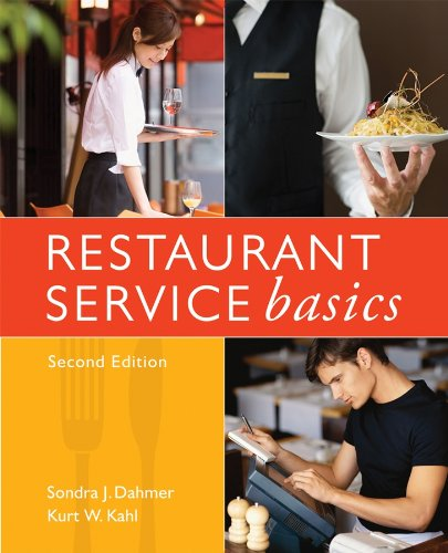 9780470107850: Restaurant Service Basics